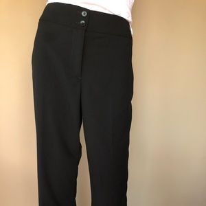 Talbots 'Heritage' fit black trousers